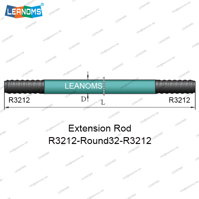 R3212-Round32-R3212 Extension Drilling Rod