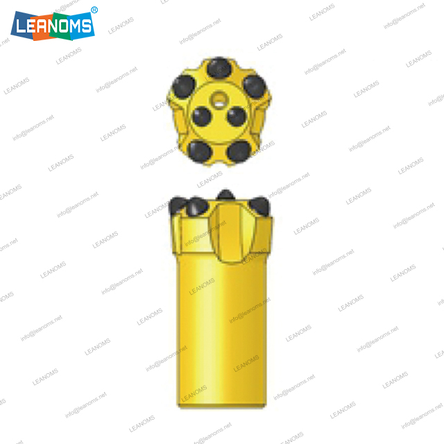 41-115mm Normal Or Retrac R25 Thread Drilling Button Bits