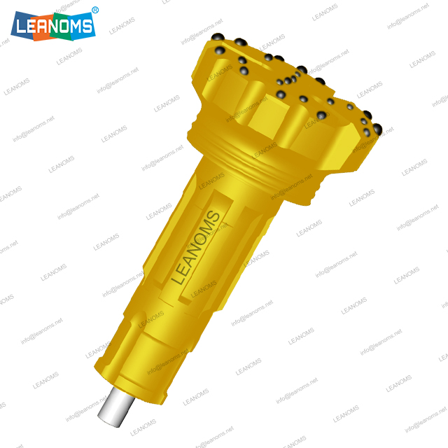 10 Inch SD10 High Air Pressure DTH Bit With Foot Valve
