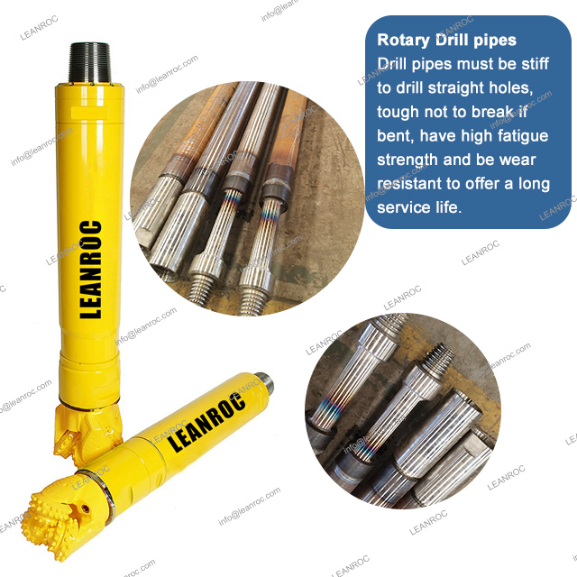 "IADC635 9"" 229mm Rock Tri Tricone Drilling Bits For Mining And Water Well"