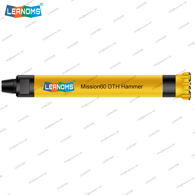 6 Inch MISSION60 High Air Pressure DTH Hammer Without Foot Valve